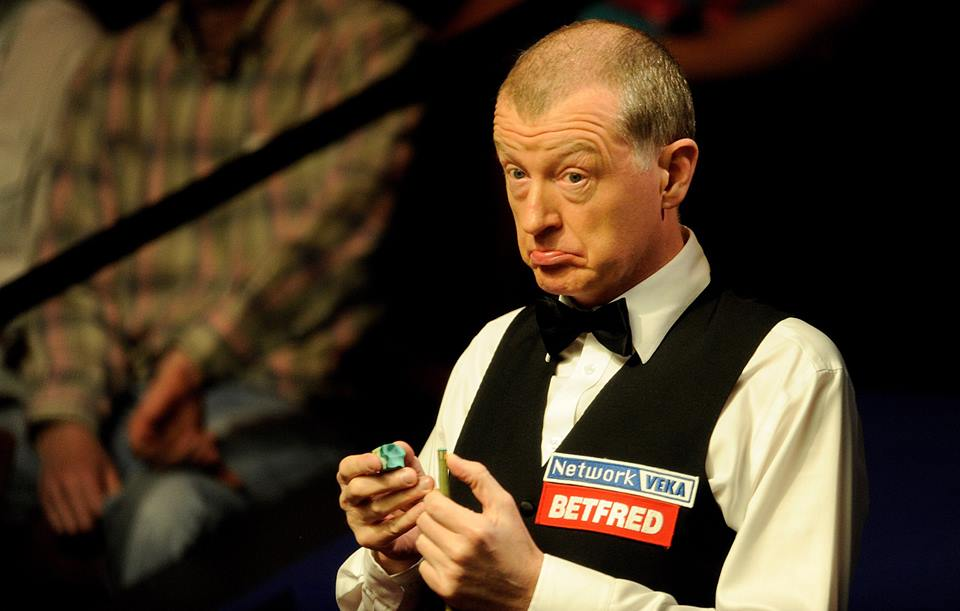 Steve Davis 6 time World Snooker Champion, CUE SPORT LV